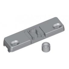 Балконная защёлка 13  мм  (2 части) VHS