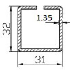 Профиль армирующий 201 (1,35); 31х32; О; 105-штрипс; 6,00 м.п.; пачка 600 м.п.