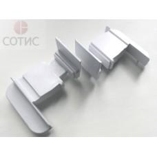 Заглушка для штульпа NORD (бел) комплект (левая/правая), коробка 100 пар